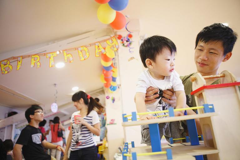 Singapore Baby Birthday Photography