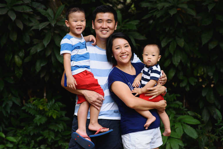 Singapore Family Portrait Photographer