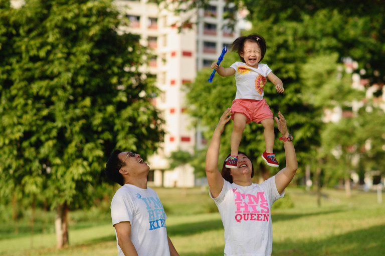Outdoor Family Photography in Singapore