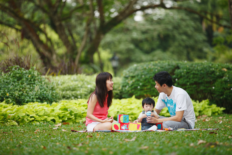 Singapore Botanic Gardens Family Photography