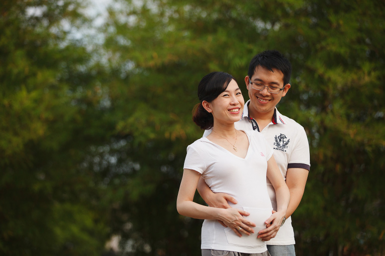 Singapore Outdoor Maternity Photography