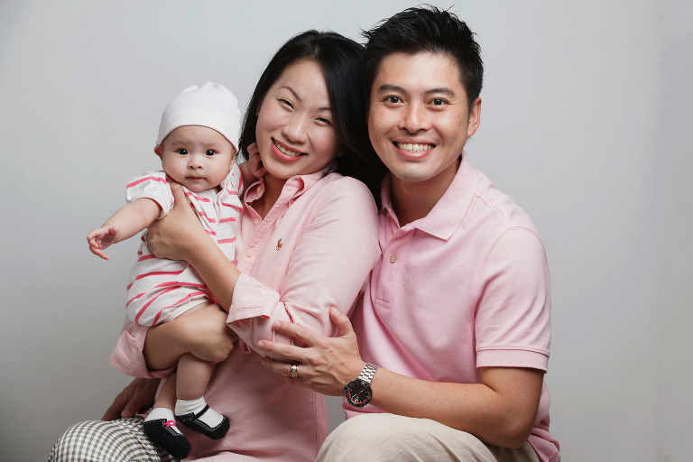 Singapore Studio Family Portrait Photography